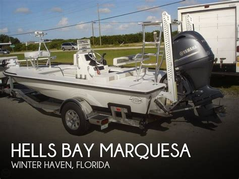 Winter Haven Boat Dealers by For Sale Used 2015 Hells Bay Marquesa In Winter Haven