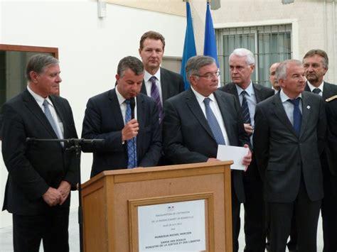 inauguration des travaux de restructuration et d extension de la maison d arr 234 t de bonneville