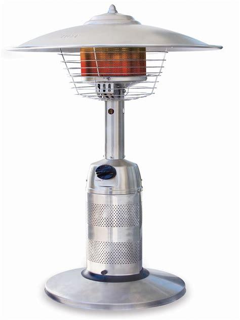 100 garden treasures table top gas patio heater
