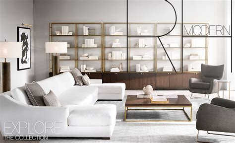 Explore Rh Modern. Living, Dining How To Cover Dining Room Chair Cushions Living Entrance Ideas Wine Racks Lounge Hutch Colour Schemes For Rooms Furniture Chicago Blue