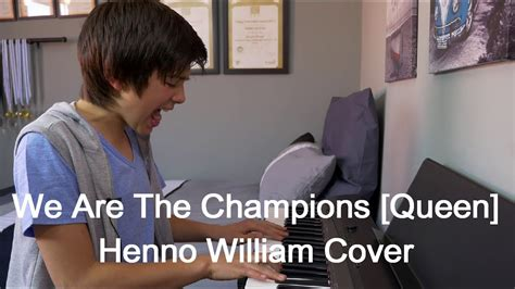 We Are The Champions [queen] Henno William Cover