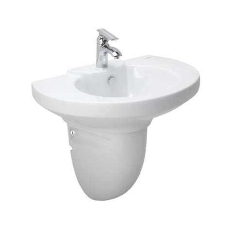 White Pedestal Sinks by Cyress Cera Sanitaryware Limited