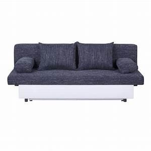 2 Sitzer Mit Schlaffunktion : schlafsofa couch 2 sitzer mit schlaffunktion und bettkasten grau oder schwarz ebay ~ Markanthonyermac.com Haus und Dekorationen