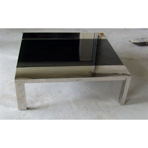table basse design carree melina ezooq