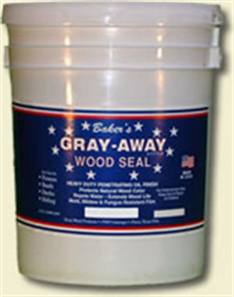 baker s gray away best professional fence and deck stain