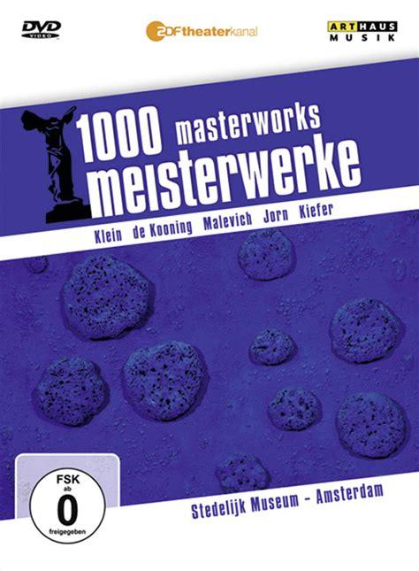 Museum Amsterdam Kostenlos by 1000 Meisterwerke Stedelijk Museum Amsterdam Dvd