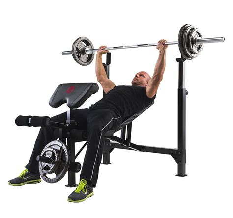 marcy eclipse be5000 olympic width barbell bench fitnessdigital