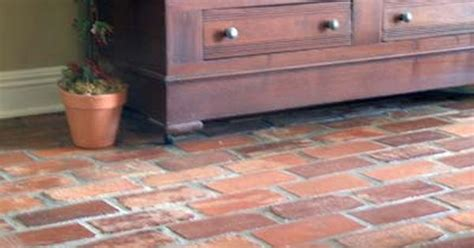 brick flooring similar to the one on the screened in porch south carolina antique