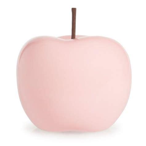 statuette pomme en polyr 233 sine maison du monde wishlist roses pastel et chic