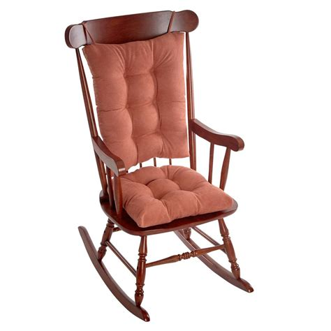 klear vu gripper twillo clay jumbo rocking chair cushion set 849140xl 32 the home depot