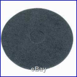 black floor buffer pads