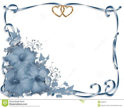 mariage bleu d invitation de ketmie de cadre photo stock image 9258570