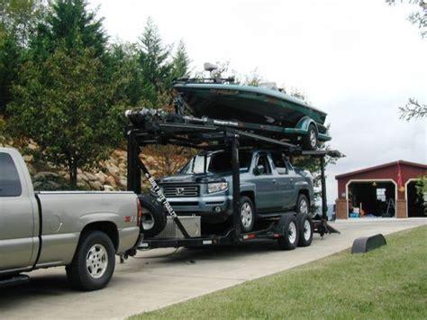 Tow Boat Jobs In Memphis Tn by Double Deck Stacker Trailer Divorce Sale 26 Foot Boat