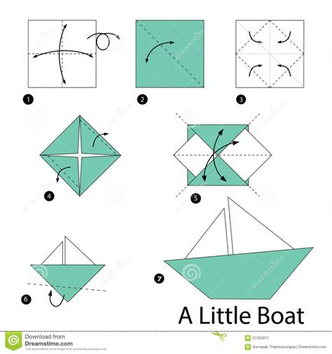 How To Make A Paper Boat Step By Step With Pictures by Free Coloring Pages Step By Step Instructions How To Make