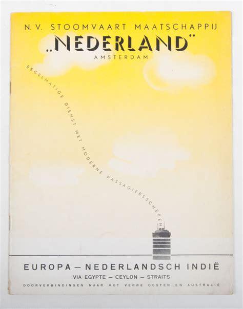 Scheepvaart Nv by Scheepvaart N V Stoomvaart Maatschappij Quot Nederland