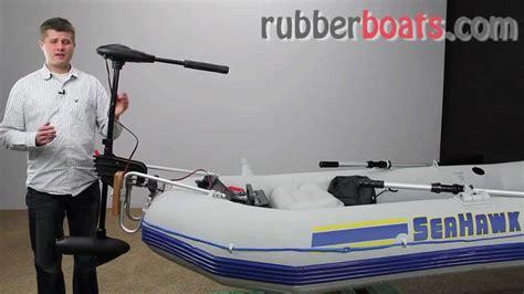 Intex Trolling Motor For Intex Inflatable Boats 36 Shaft by Intex Electric Trolling Motor 40 Lb Thrust Vs Minn Kota