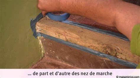 restauration d un escalier en tomettes