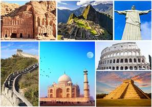 ᗚglorious facts about seven wonders wonders of the world ღ ƹ ӝ ʒ ღ for for