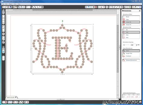 change prezi template once youve started rhinestone design tutorial with silhouette designer