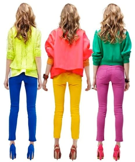 Match Clothes Colors  Bold Color Blocking Match