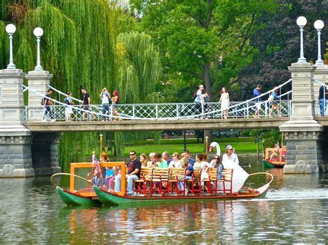 Swan Boats Boston Public Garden by Boston Public Garden Swan Boats Garden Ftempo