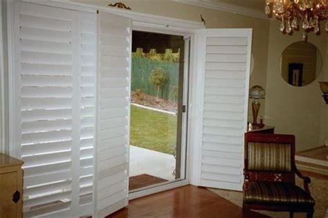 Exterior Plantation Shutters For Sliding Glass Doors