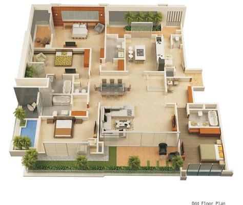 Home Design Amusing 3d House Design Plans 3d Home Design