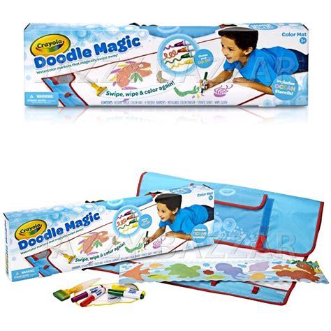 crayola bathtub crayons target crayola doodle magic color mat pack 4 markers stencil