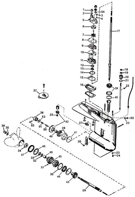 Mercury Outboard Motor Video mercury outboard parts drawings tech video throughout
