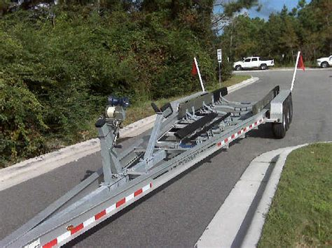 Boat Trailer Triple Axle Used by Wtb 15000lb Tri Axle Aluminum Trailer The Hull Truth