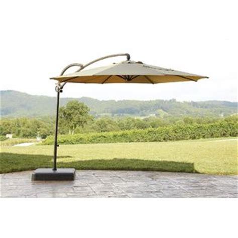 Sears Offset Patio Umbrella by Garden Oasis Offset Umbrella 10ft Outdoor Living