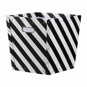 Schwarz Weiß Kontrast : aufbewahrungsbox gestreift schwarz wei von kids concept kaufen ~ Markanthonyermac.com Haus und Dekorationen