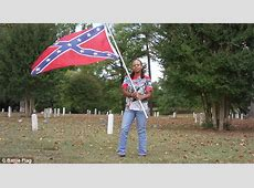 Black woman who defends Confederate flag claims slavery