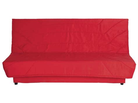 banquette clic clac en tissu coloris vente de banquette clic clac conforama