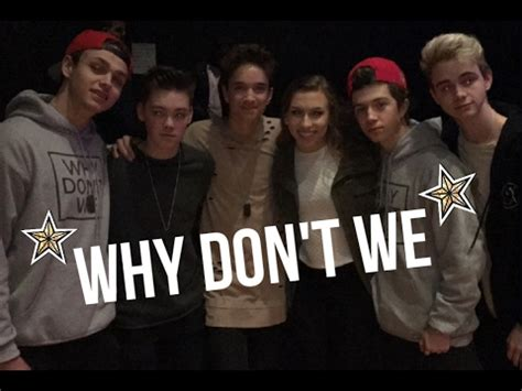Why Don't We Tour  Concert Vlog Youtube