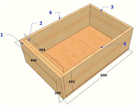 plans et construction d un tiroir forum d entraide