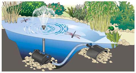 les pompes pour votre bassin