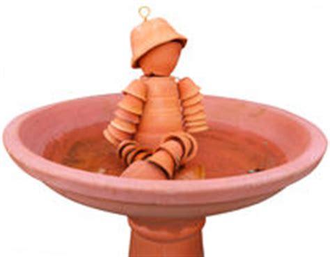 homme de pot de fleurs de terre cuite photo stock image 44111389
