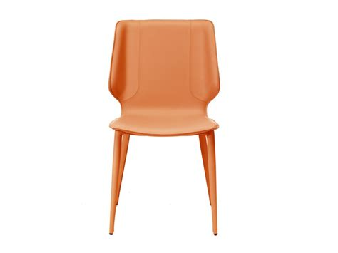 chaise rembourr 233 e en cuir tann 233 e kazuka by roche bobois design maurizio manzoni roberto tapinassi