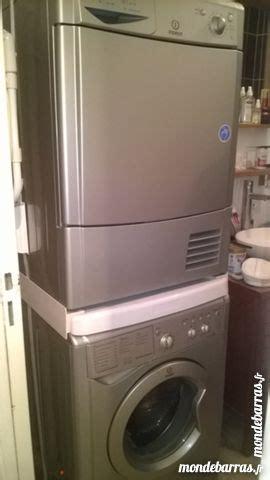 superposer lave linge seche linge sans kit de conception de maison