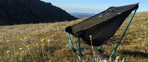 helinox ground chair trail hiking