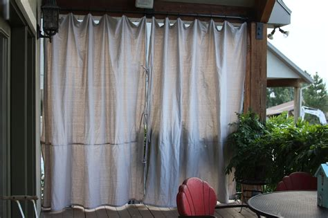 Home Curtain : Sheer Patio Curtains Outdoor-home The Honoroak