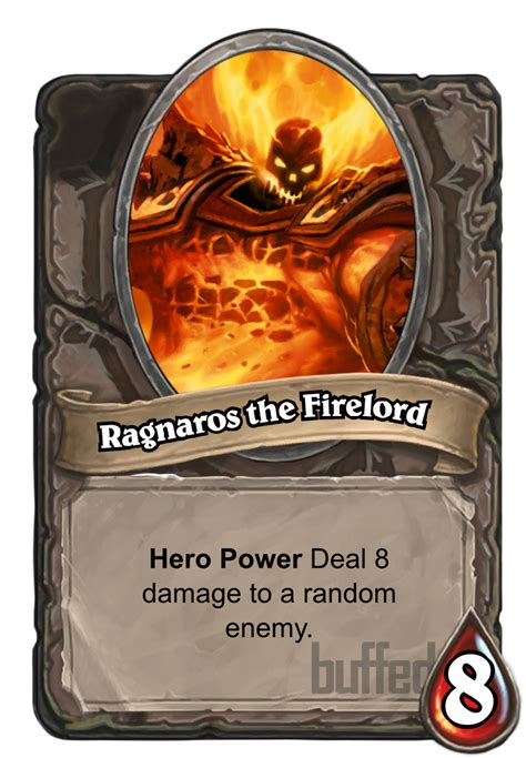 ragnaros the firelord card hearthstone database