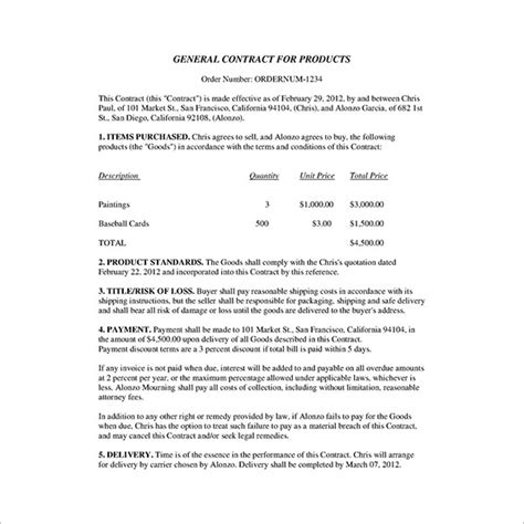 business sale contract free template vic business contract template 17 free word pdf documents