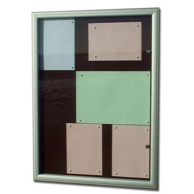 vitrine d affichage ext 233 rieur reverso 4 feuilles a4 s a t a verv4an3vm