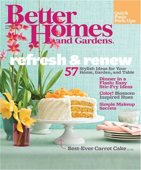 Better Homes And Gardens Magazine Address Change better homes gardens magazine change of address 28