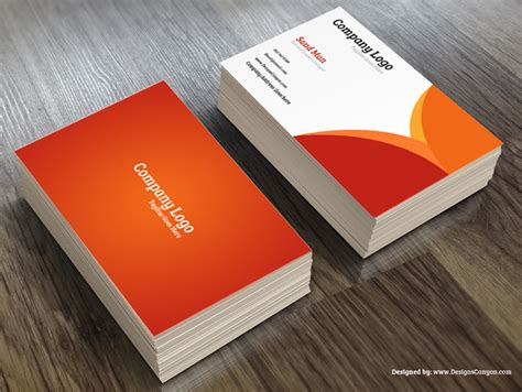 Creative Psd Business Card Template Free Download