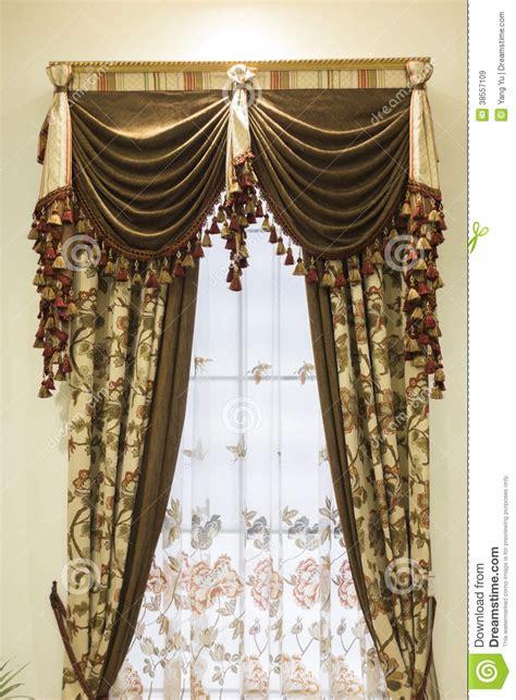 rideau de luxe images libres de droits image 38557109
