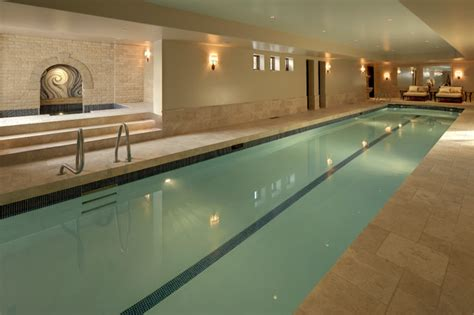 Indoor Pools & Spas-traditional-pool-calgary-by
