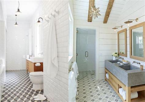 r 233 novation salle de bain avec sol carreau ciment deco salle de bain design